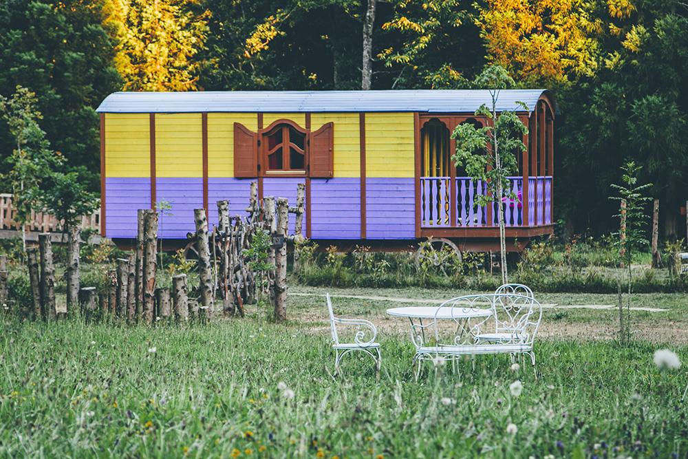 Carro Lamia/ Foto: Cabanas en los arboles Euskadi